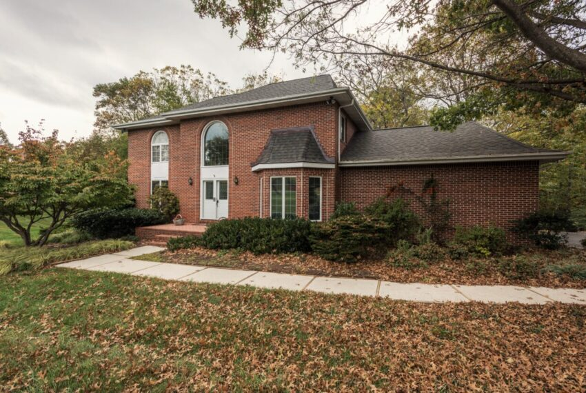 Brick colonial with updated kitchen and baths