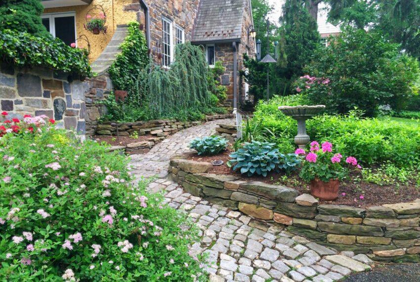 path & garden